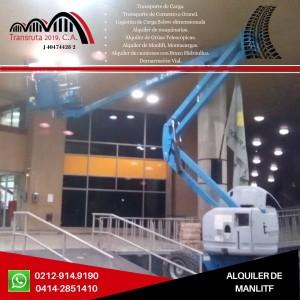 servicio y alquiler de elevadores de personal